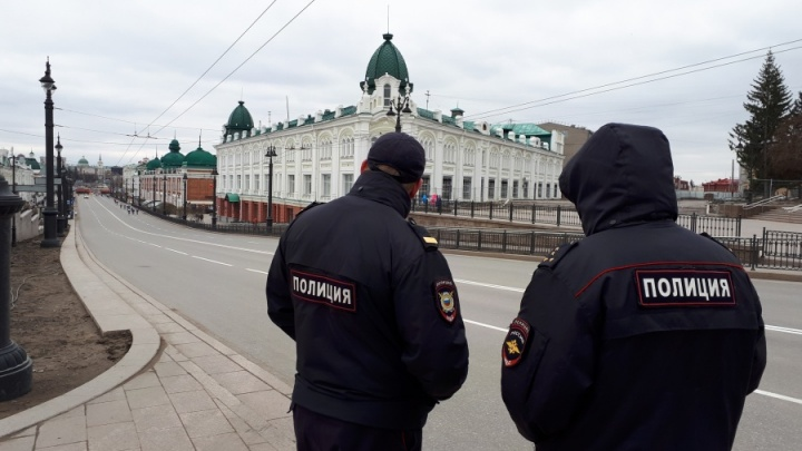 Перед приездом Путина на улице Ленина полицейские проверили прохожую металлодетектором