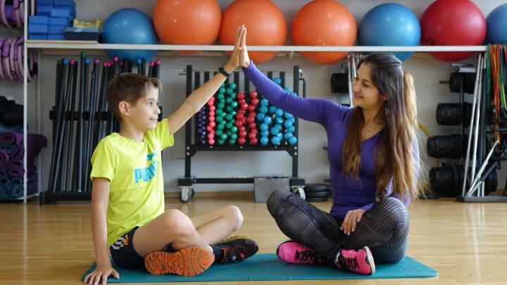 Как приучить ребенка к спорту: пять веселых упражнений от эксперта по фитнесу