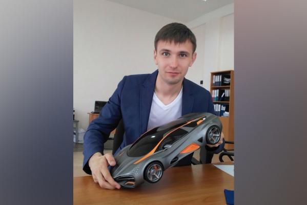 Этот прототип Дмитрий распечатал на 3D-принтере