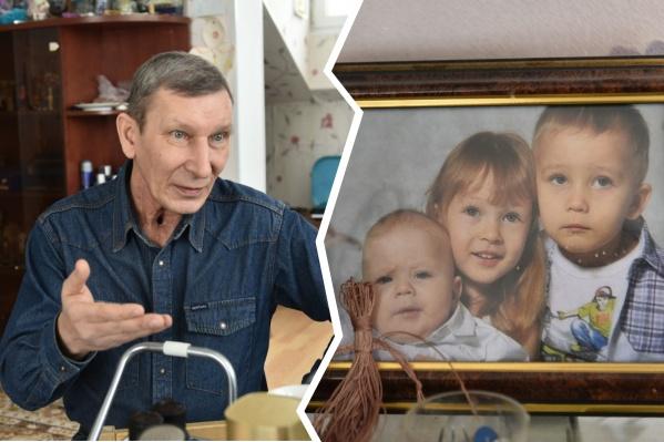 Данила один воспитывает троих детей и держит в доме частный детсад