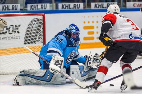 Вратарю «Сибири» Алексею Красикову теперь будет сниться в страшных снах канадец Крис Верстиг