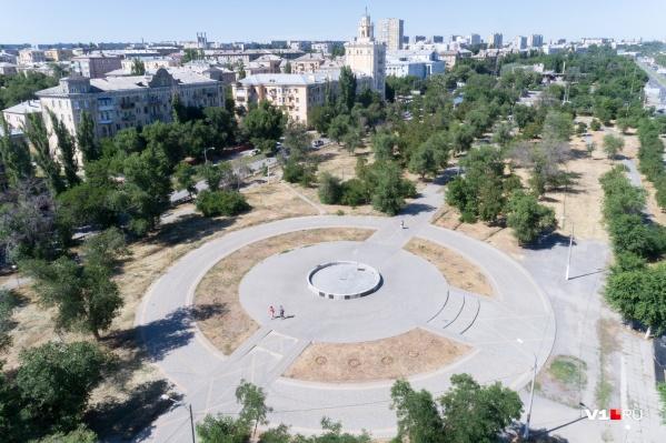 От «фонтана-убийцы» в парке осталась только чаша
