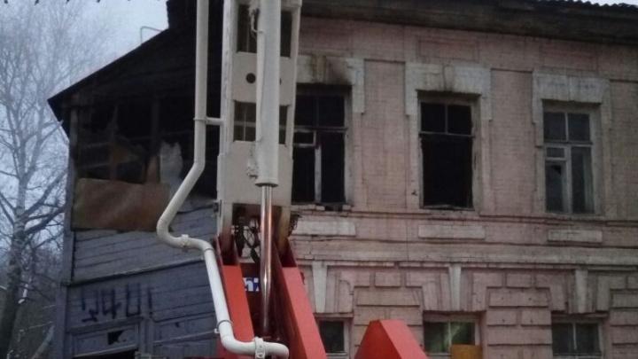 Гибель человека при пожаре в центре Уфы проверит следком
