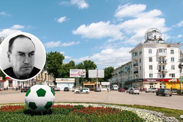 На площади Мочалова скоро появится скульптура самого Павла Петровича