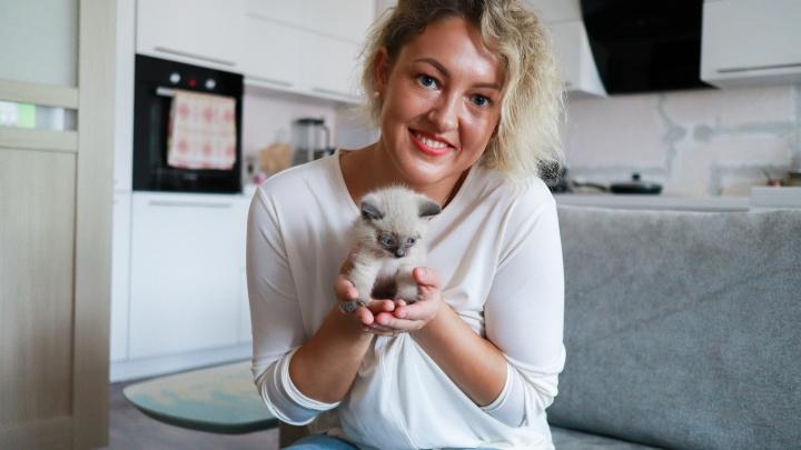 «Он был в опасности»: мы нашли девушку, с риском для жизни подобравшую котенка на Октябрьском мосту