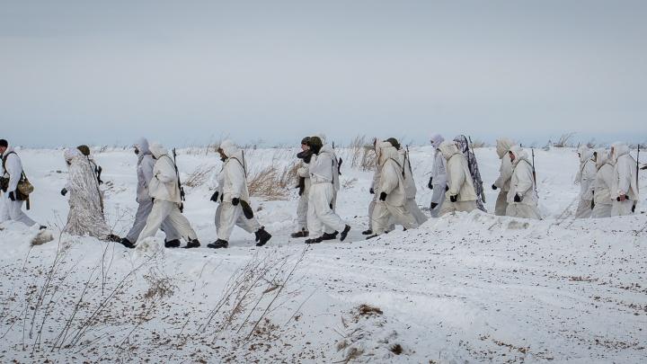 Под Новосибирском спецназ устроил учения со стрельбой из пулемётов и гранатомётов