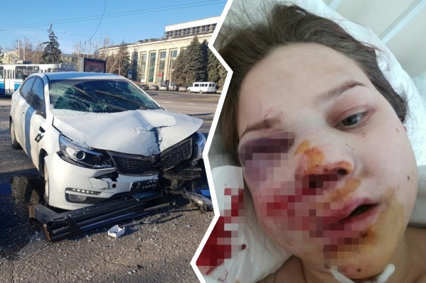 Машина на полном ходу сбила 20-летнюю студентку