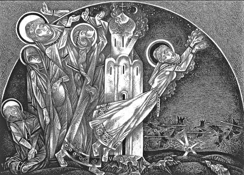 Памяти гениального художника: галерея работ ушедшего из жизни Виталия Воловича
