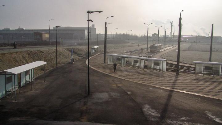 В Самаре открыли движение трамваев на улице Ташкентской
