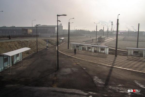 Трамваи начали ездить до Барбошиной поляны и до стадиона «Самара Арена» (11-й и 12-й маршруты)