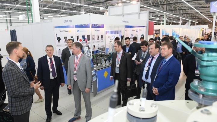 При поддержке нефтяников в Перми открылась 20-я межрегиональная выставка «Нефть и газ. Химия»