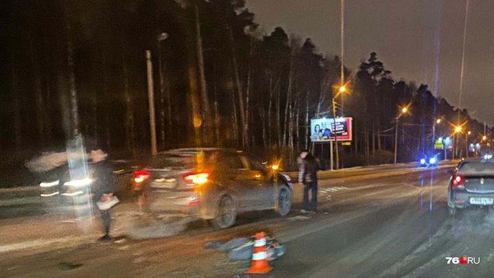 В Ярославле «Хёндай» сбил пешехода