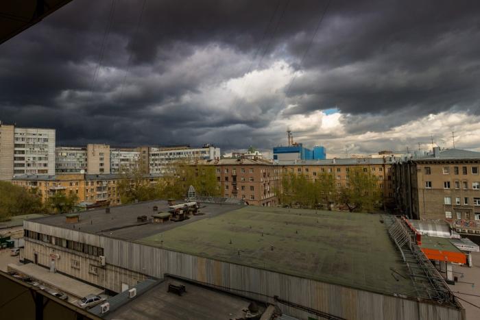 В последующие три дня в Новосибирске будут идти умеренные дожди