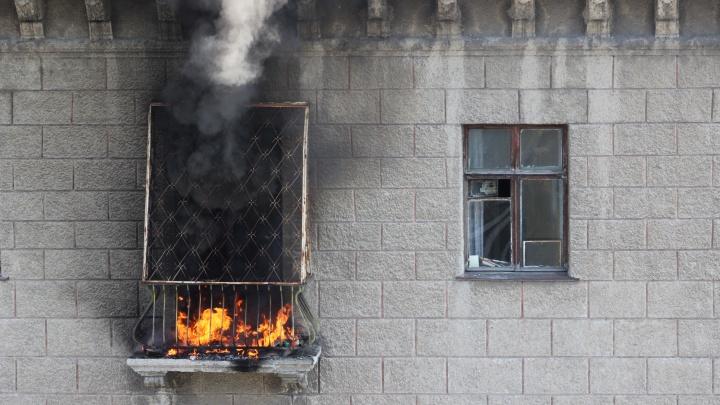 Следователи рассказали подробности пожара на Ударной: погиб один человек