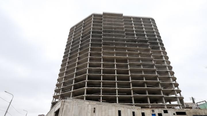 В Ростове по решению суда законсервируют 18-этажный недострой