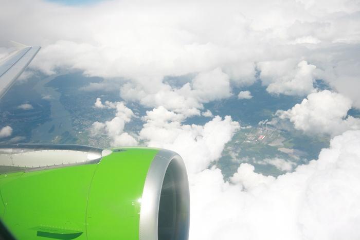 Самолёт из Новосибирска отправился на посадку в Хабаровск