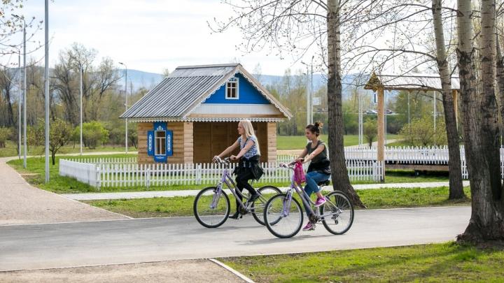 Объявлена дата новых торгов по велопрокату на острове Татышев
