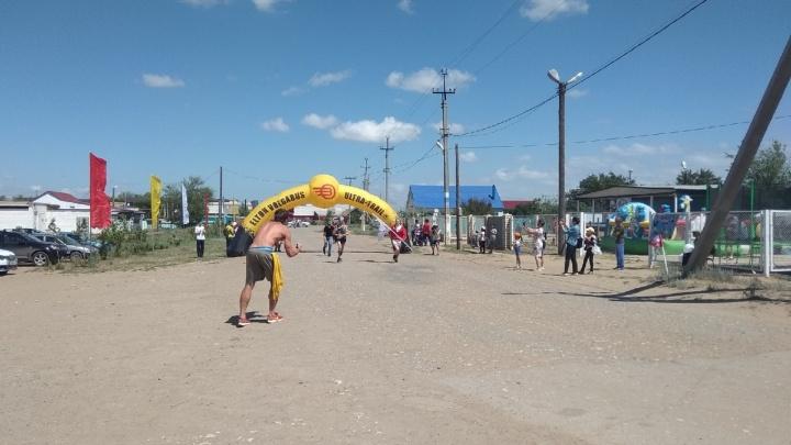 Победителями эстафеты на 205 километров на Эльтоне стали трое москвичей