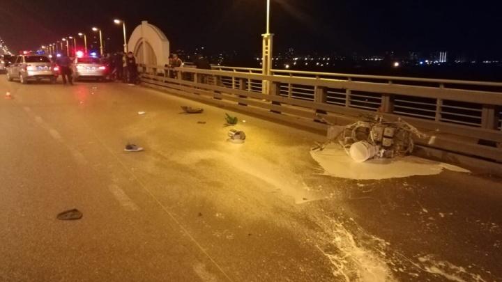Полиция возбудила уголовное дело из-за смертельного ДТП с дорожником на метромосту