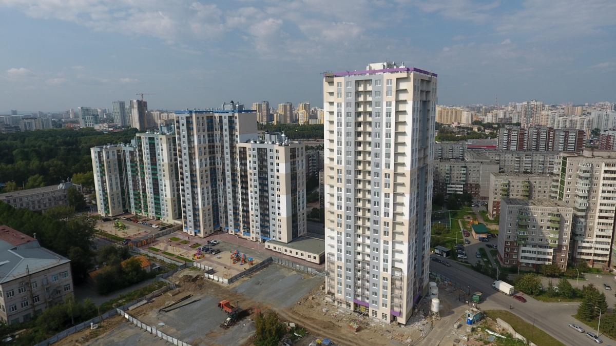 «Аметистовый» дом сдадут на полгода раньше, чем планировали