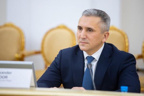 Губернатор отвечал на вопросы тюменцев в онлайн-режиме