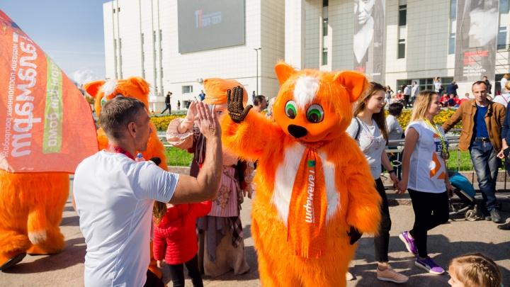 «Галамартовские» коты поддержали спортсменов на марафоне в Перми