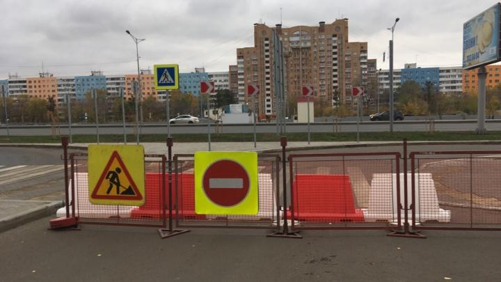 Ни пройти ни проехать: в Самаре перекрыли съезд с Московского шоссе