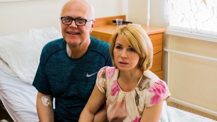 «Я очень счастлив»: англичанин приехал к жене в Сибирь из-за проблем с сердцем