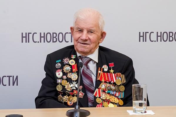 В этом году ветерану исполнилось 95 лет