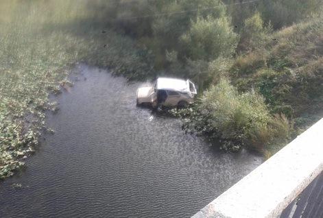 В Башкирии машина слетела в овраг: пострадал водитель