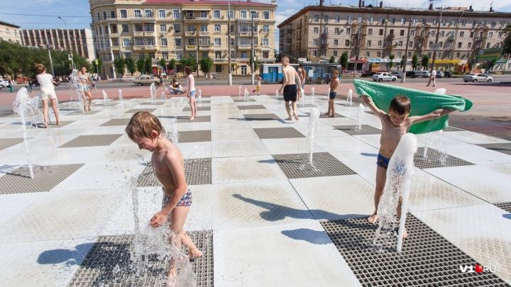 В Волгоградской области сохранится +42 ºС