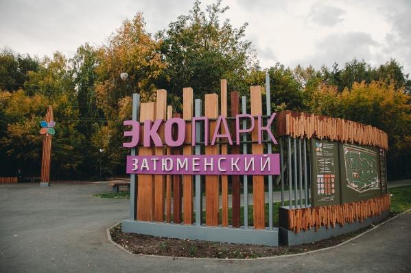 Уже к сентябрю в «Затюменском» может появиться новый твёрдый участок для прогулок мам с колясками и щепа, которая перестанет мокнуть