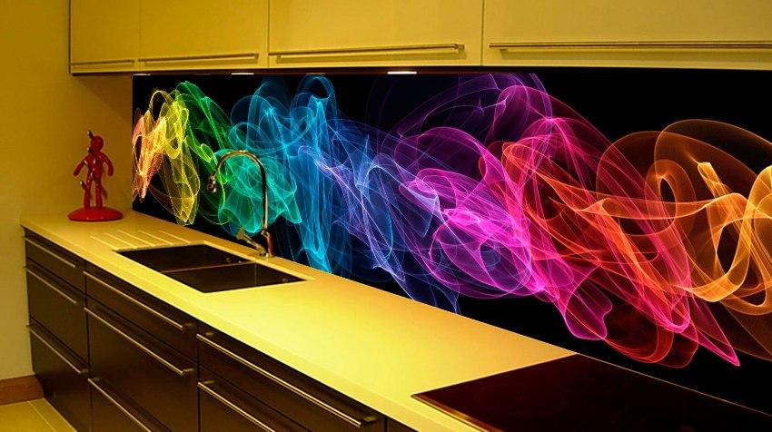Недорого, практично и красиво: кухонный фартук из МДФ станет стильным акцентом в интерьере