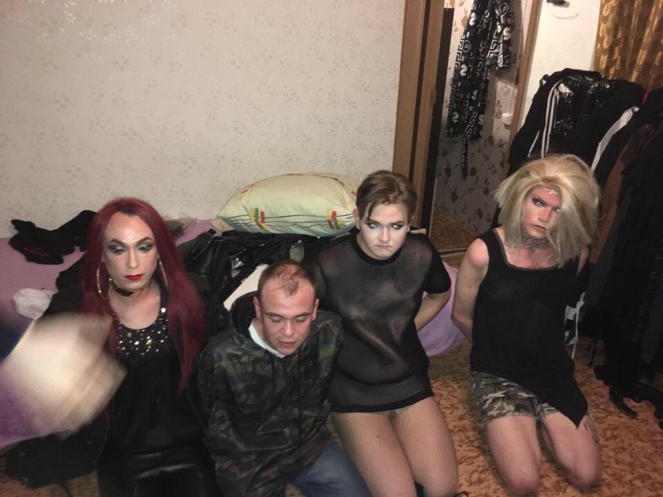 Трансвеститы в милиции видео правы