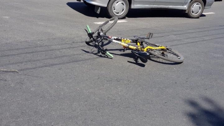 В Тольятти на улице Маршала Жукова сбили велосипедиста