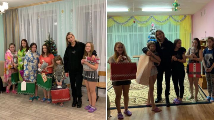 Осуществила каждую мечту: супермодель привезла подарки ребятам из ярославского детского дома