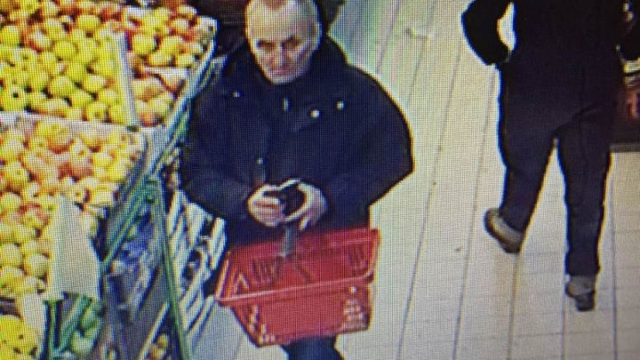 «Стащил всю зарплату и премию»: карманник попал на видео в челябинском супермаркете