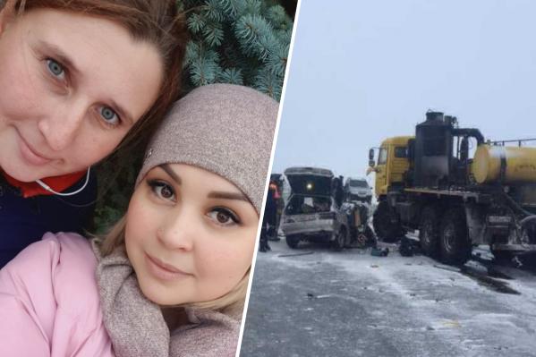 Женщины с детьми ехали встречать Новый год к подруге, когда попали в смертельную аварию
