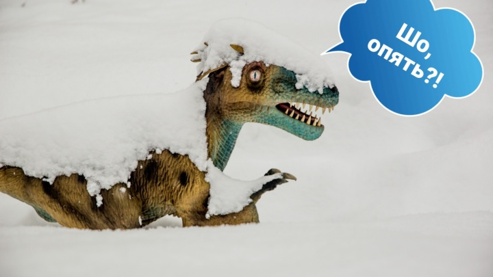 Верни мне мой мезозой: у динозавров в Ярославле снова начался ледниковый период