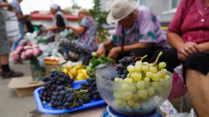В Кировском районе Волгограда ликвидируют рынок с бабушкиными помидорами