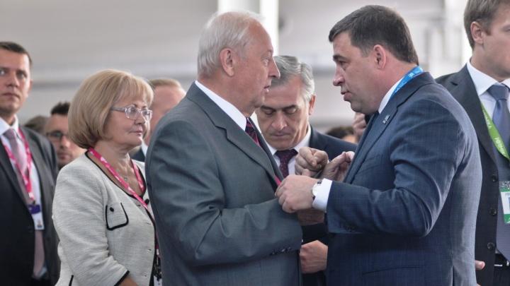 Евгений Куйвашев создал комитет, чтобы с размахом отметить юбилей Эдуарда Росселя