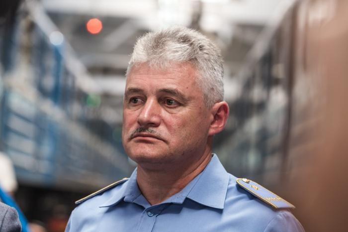 Аркадия Чмыхайло назначили начальником метрополитена полтора года назад