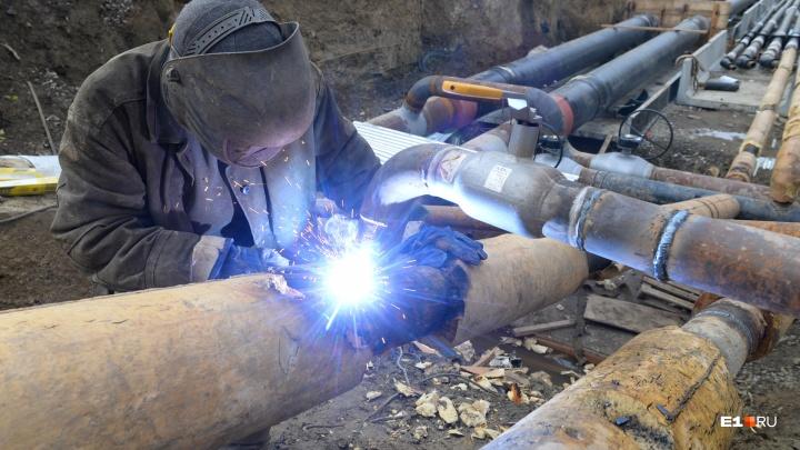 В Екатеринбурге раскопают улицу Серова ради прокладки тепломагистрали