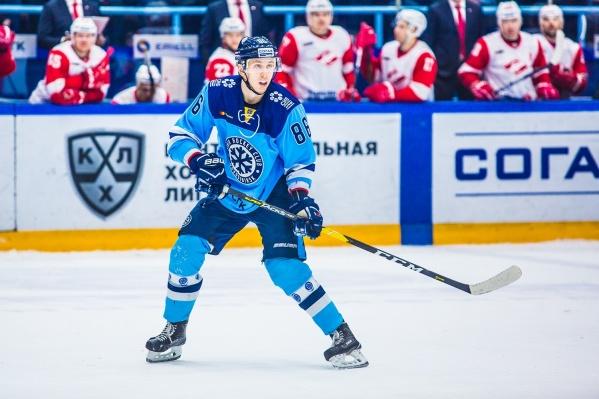 Хоккеист вошёл в состав студенческой сборной России