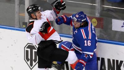 Первая и последняя победа: «Авангард» обыграл СКА в заключительном матче турнира Sochi Hockey Open