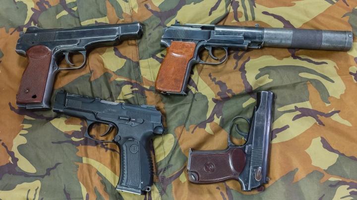 В Прикамье задержали банду, занимавшуюся незаконной продажей пистолетов