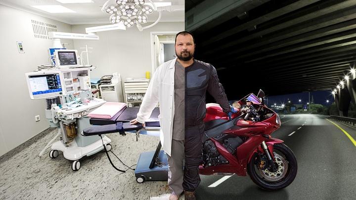 «Ну не хватает драйва на работе!»: челябинские врачи рассказали, как пересели на байки