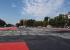 Рисунок восстановят: коммунальщики уехали с площади, где закатывали в асфальт работу Покраса Лампаса