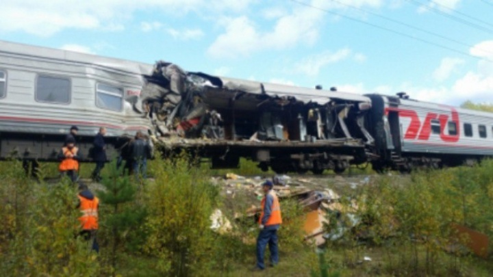 В аварии на железной дороге в Югре пострадала жительница Башкирии
