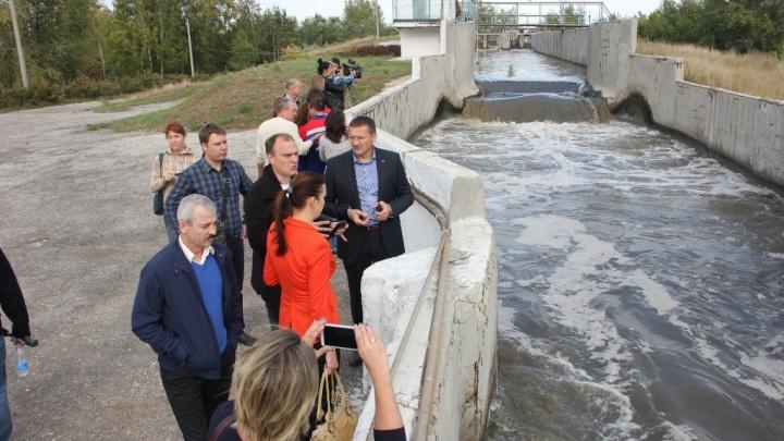 Жители «Волгаря» выяснили, как пахнут городские очистные сооружения